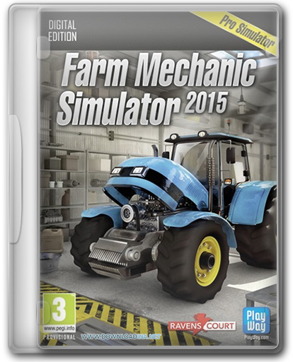 Farm Mechanic Simulator 2015 (www.Downloadina.Net)