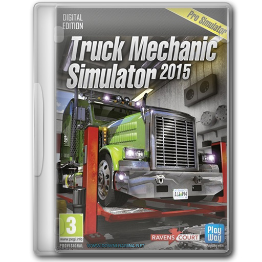 Truck Mechanic Simulator 2015 (www.Downloadina.Net)