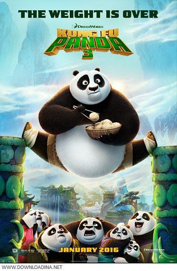 دانلود انیمیشن Kung Fu Panda 3 2016