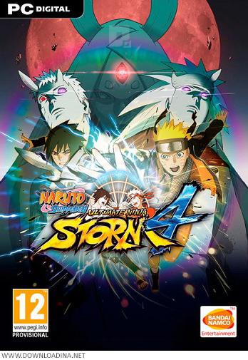 دانلود بازی Naruto Shippuden Ultimate Ninja Storm 4 برای PC