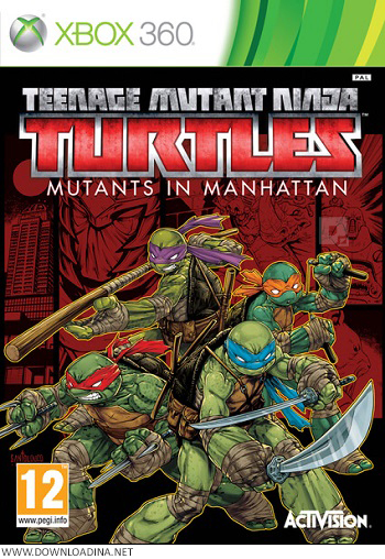دانلود بازی Teenage Mutant Ninja Turtles Mutants in Manhattan برای XBOX 360