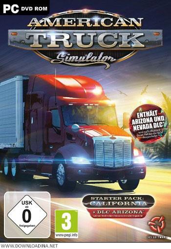 دانلود بازی American Truck Simulator Arizona برای PC