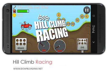 دانلود بازی Hill Climb Racing برای اندروید
