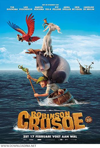 دانلود انیمیشن Robinson Crusoe 2016