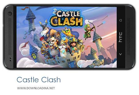 دانلود بازی Castle Clash برای اندروید