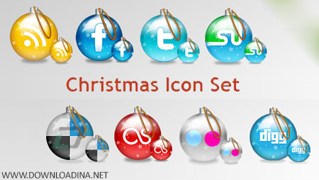 8 Christmas Icons (www.Downloadina.Net)