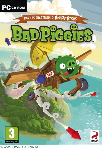 Bad Piggies PC (www.Downloadina.Net)