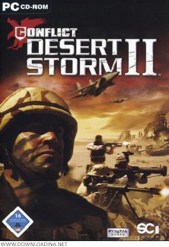 Conflict Desert Storm II (www.Downloadina.Net)