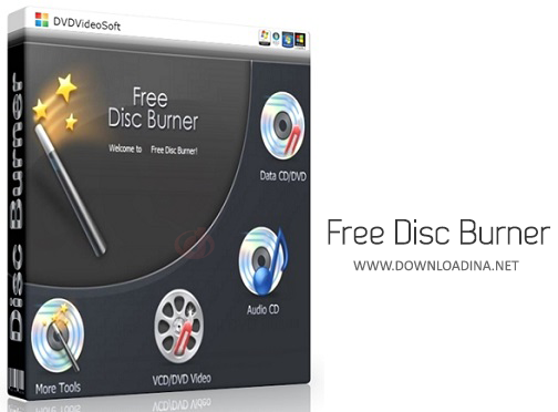 Free Disc Burner (www.Downloadina.Net)