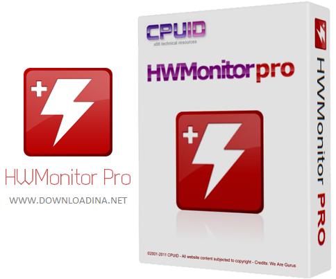 مشاهده دمای قطعات کامپیوتر با HWMonitor Pro