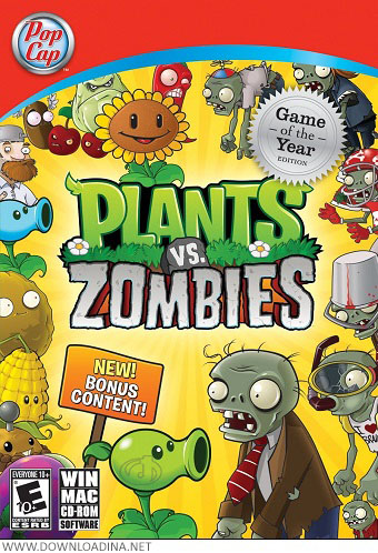 Plants VS Zombies (www.Downloadina.Net)