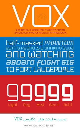 Vox Font Family (www.Downloadina.Net)